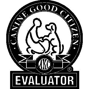AKC Canine Good Citizen Evaluator.